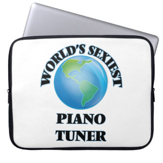 World's Sexiest Piano Tuner Computer Sleeves