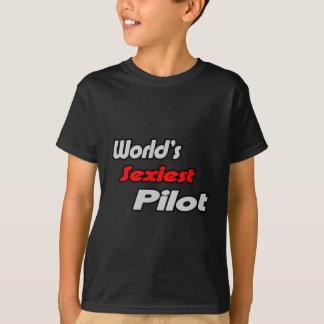 World's Sexiest Pilot T-Shirt