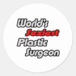 World's Sexiest Plastic Surgeon Sticker