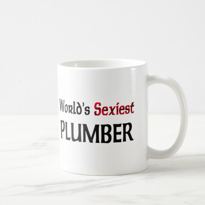 World's Sexiest Plumber Coffee Mug