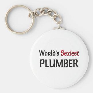 World's Sexiest Plumber Key Chain
