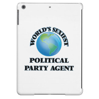 World's Sexiest Political Party Agent iPad Air Covers
