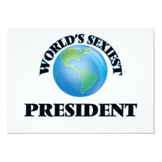 World's Sexiest President Custom Invitation