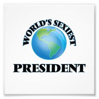 World's Sexiest President Art Photo