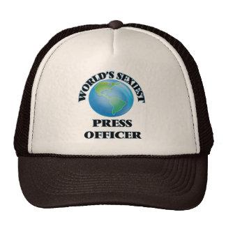 World's Sexiest Press Officer Trucker Hats