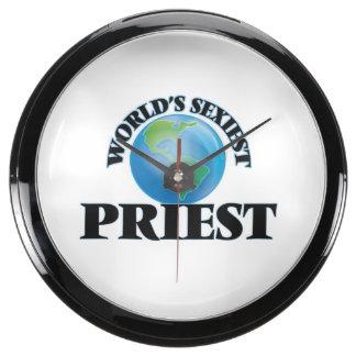 World's Sexiest Priest Fish Tank Clock