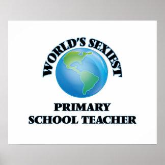World's Sexiest Primary School Teacher Poster