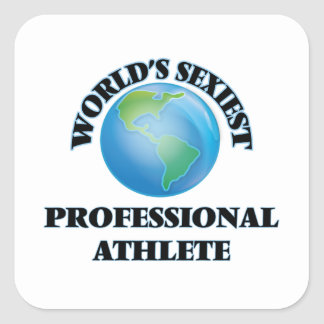 World's Sexiest Professional Athlete Stickers