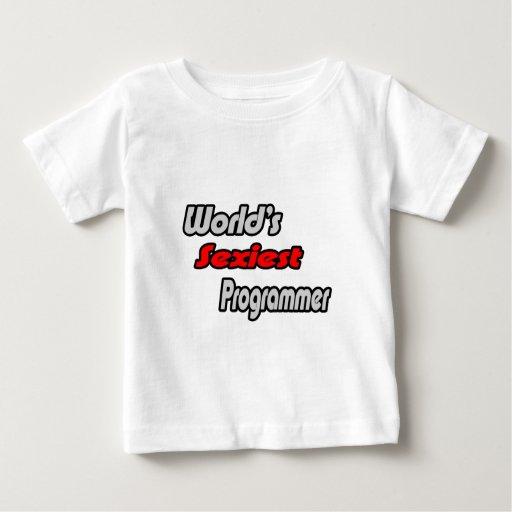 World's Sexiest Programmer T Shirts