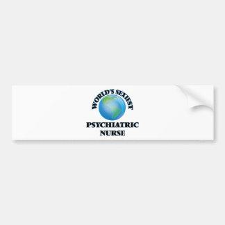 World's Sexiest Psychiatric Nurse Car Bumper Sticker