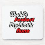 World's Sexiest Psychiatric Nurse Mouse Pad