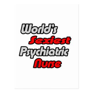 World's Sexiest Psychiatric Nurse Postcard