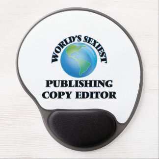 World's Sexiest Publishing Copy Editor Gel Mouse Pads