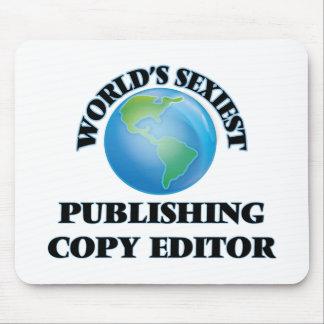 World's Sexiest Publishing Copy Editor Mousepad