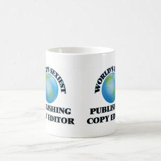 World's Sexiest Publishing Copy Editor Coffee Mugs