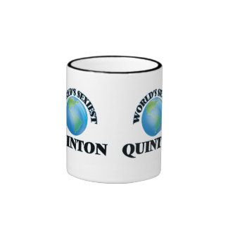 World's Sexiest Quinton Coffee Mugs