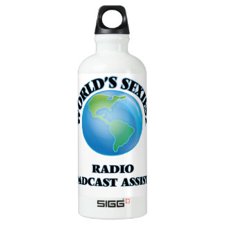 World's Sexiest Radio Broadcast Assistant SIGG Traveler 0.6L Water Bottle