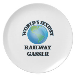 World's Sexiest Railway Gasser Party Plates