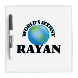 World's Sexiest Rayan Dry-Erase Whiteboard