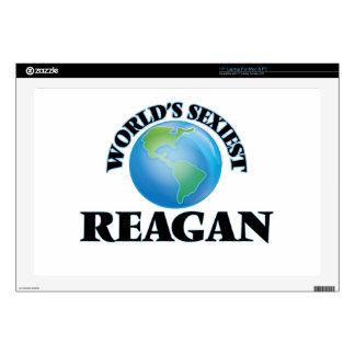 "World's Sexiest Reagan 17"" Laptop Skin"
