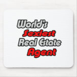 World's Sexiest Real Estate Agent Mouse Pad