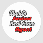 World's Sexiest Real Estate Agent Stickers