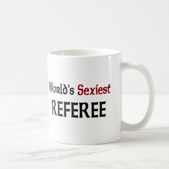 World's Sexiest Referee Coffee Mug