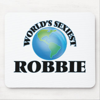 World's Sexiest Robbie Mouse Pad
