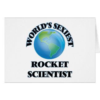 World's Sexiest Rocket Scientist Greeting Card