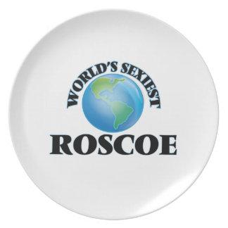 World's Sexiest Roscoe Dinner Plates