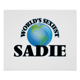 World's Sexiest Sadie Poster