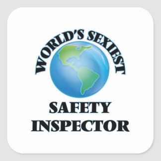 World's Sexiest Safety Inspector Stickers