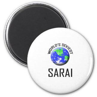 World's Sexiest Sarai Refrigerator Magnets