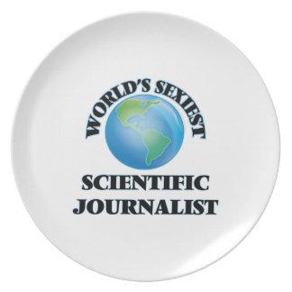 World's Sexiest Scientific Journalist Dinner Plates
