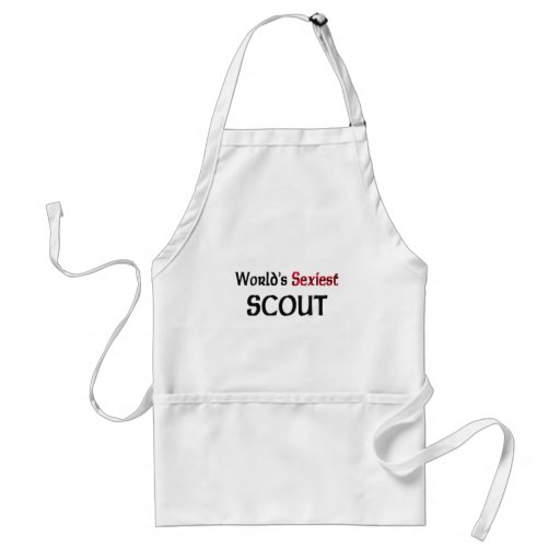 World's Sexiest Scout Adult Apron