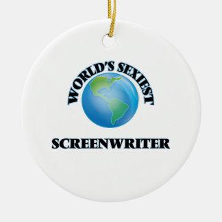 World's Sexiest Screenwriter Ornament