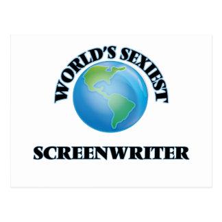World's Sexiest Screenwriter Post Card