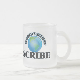 World's Sexiest Scribe Coffee Mugs