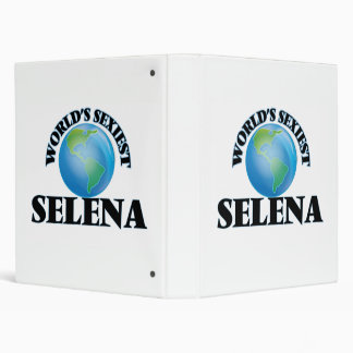 World's Sexiest Selena Vinyl Binders