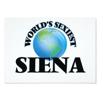 World's Sexiest Siena Announcement Card