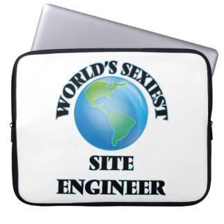 World's Sexiest Site Engineer Laptop Computer Sleeves