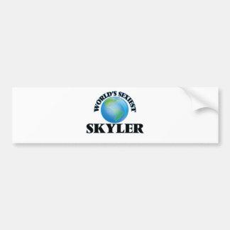 World's Sexiest Skyler Bumper Stickers