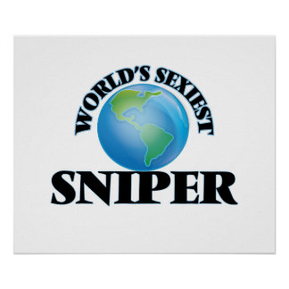World's Sexiest Sniper Poster