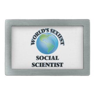 World's Sexiest Social Scientist Belt Buckle