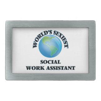 World's Sexiest Social Work Assistant Belt Buckle