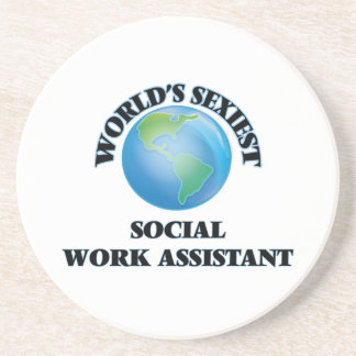 World's Sexiest Social Work Assistant Coasters