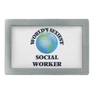 World's Sexiest Social Worker Belt Buckles