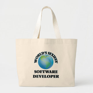 World's Sexiest Software Developer Tote Bags