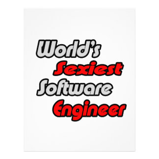 World's Sexiest Software Engineer Full Color Flyer