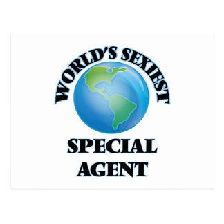 World's Sexiest Special Agent Postcard